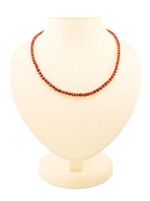 Chuỗi hạt cườm trang sức Amber Jewelry bằng đá hổ phách thiên nhiên (Caramel diamond cherry) - 6002203135