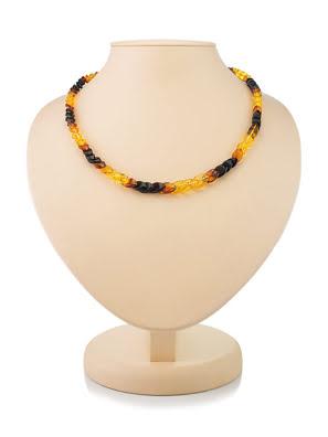 Chuỗi hạt cườm trang sức Amber Jewelry bằng đá hổ phách thiên nhiên (Snake) - 700402370