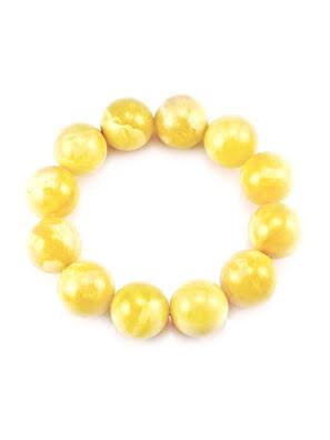 Vòng đeo tay trang sức Amber Jewelry bằng đá hổ phách thiên nhiên (Shar)  - 804704251