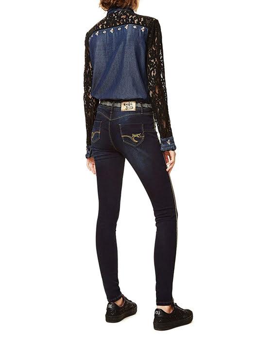 Quần Jean nữ DENIM TROUSERS, Size 29, DENIM DARK BLUE - 17WWDD41500829