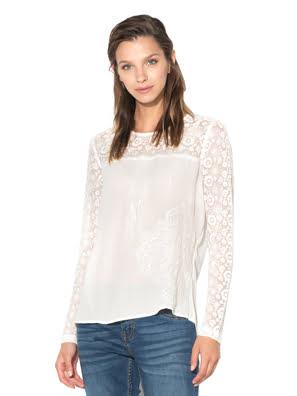 Áo dài tay nữ BLOUSE, Size XS, CRUDO - 17WWBW391001XS