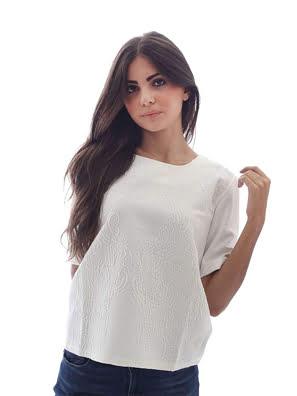 Áo cánh nữ ngắn tay Desigual BLUS_NAI size S - 67B2LA52000S