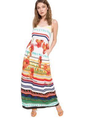 váy maxi Dresses BLANCO - 73V2WC41000