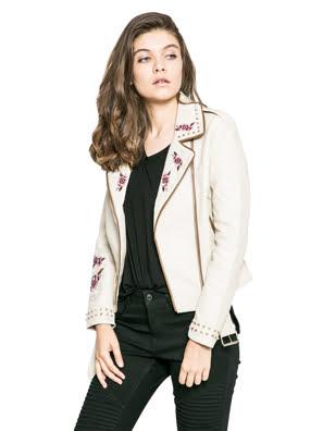 Áo khoác nữ COAT size 40 DENIM NATURE - 74E2WD1517840