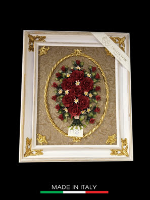 Picture of Khung tranh trang trí với hoa sứ lớn Artre Ca.Sa. ART.5641