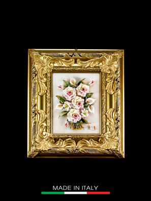 Khung tranh trang trí hình bình hoa nhỏ Arte Ca.Sa. - 5470