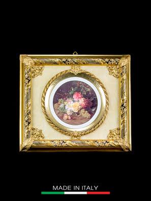 Khung tranh trang trí Arte Ca.Sa. Piatto tondo - 4943