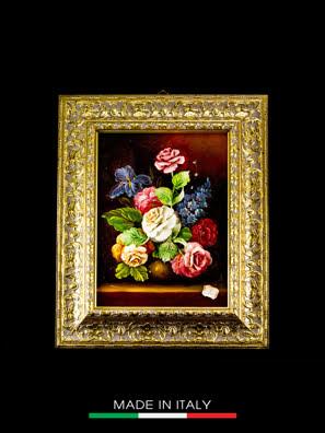 Khung tranh trang trí hình vải và hoa Arte Ca.Sa. - 5571