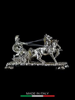 Cỗ xe ngựa La Mã nhỏ mạ vàng Arte Ca.Sa. ART- O66