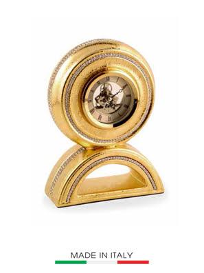 Đồng hồ mạ vàng 24K nạm ngọc BC - 848.O-STR