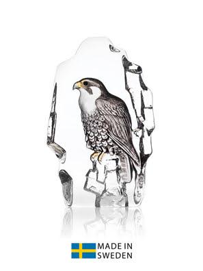 Vật trang trí hình chim ưng bằng pha lê Maleras Falcon - 34212