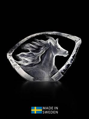 Vật trang trí hình ngựa bằng pha lê Maleras Horse - 88146