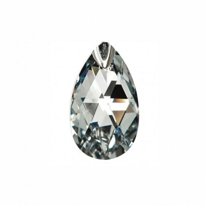 Đèn chùm DEBORA 6 bóng bằng đồng mạ vàng trang trí lá pha lê màu - DC3928-OR