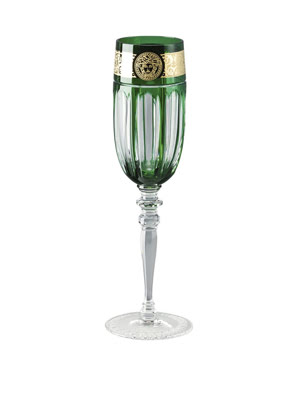 Picture of Ly rượu Champagne Versace Gala Prestige Green Medusa - 329071.40820