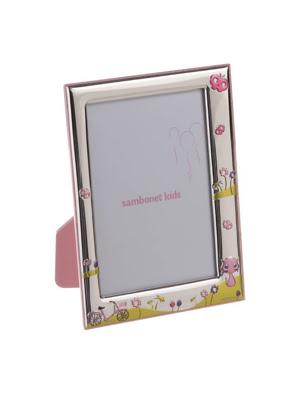 Khung ảnh trang trí Sambonet JENNY THE BIKE 9x13cm màu hồng - 59661-11