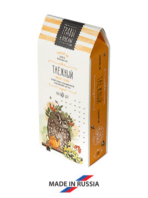 Trà thảo mộc Rừng TAIGA hộp 40 gram - 005751
