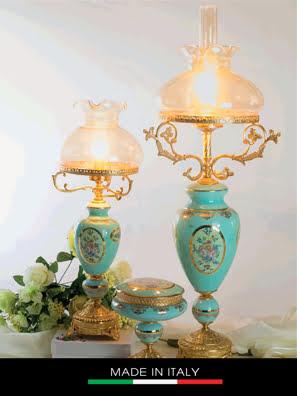 Đèn bàn mạ vàng Caroline