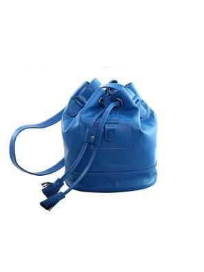 Túi xách da Rostaing Bourse Blue màu xanh - P-00016