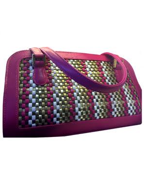 Túi xách da Rostaing Regence PM Pink màu hồng - P-00609