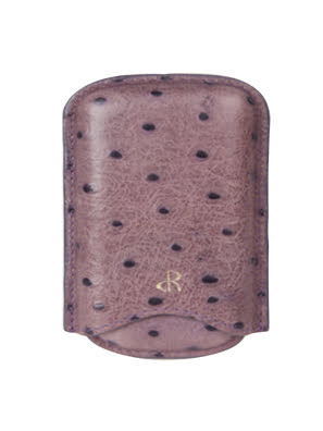 Case Da Rostaing Embossed Crocodile Purple màu tím - S-00255