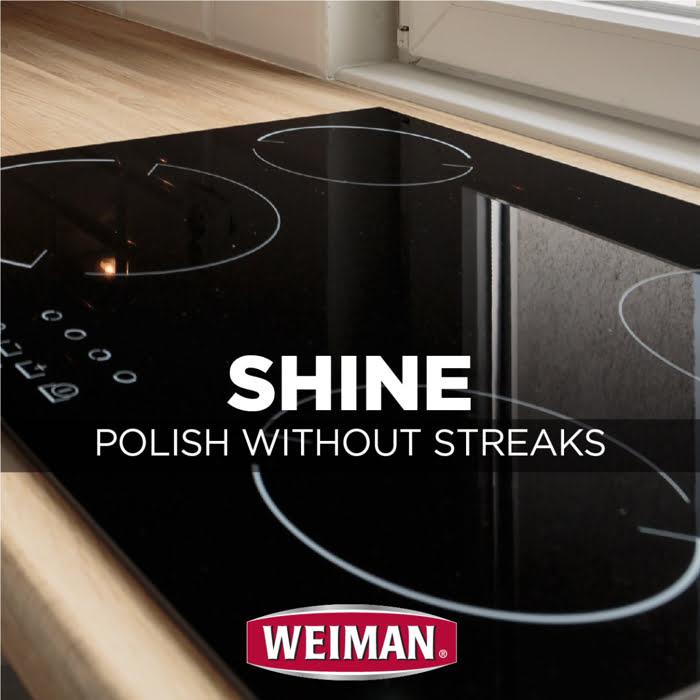 [MỚI] Khăn lau nhanh làm sạch các bề mặt sản phẩm nhà bếp, WEIMAN Cook Top Quick Wipes - WM90