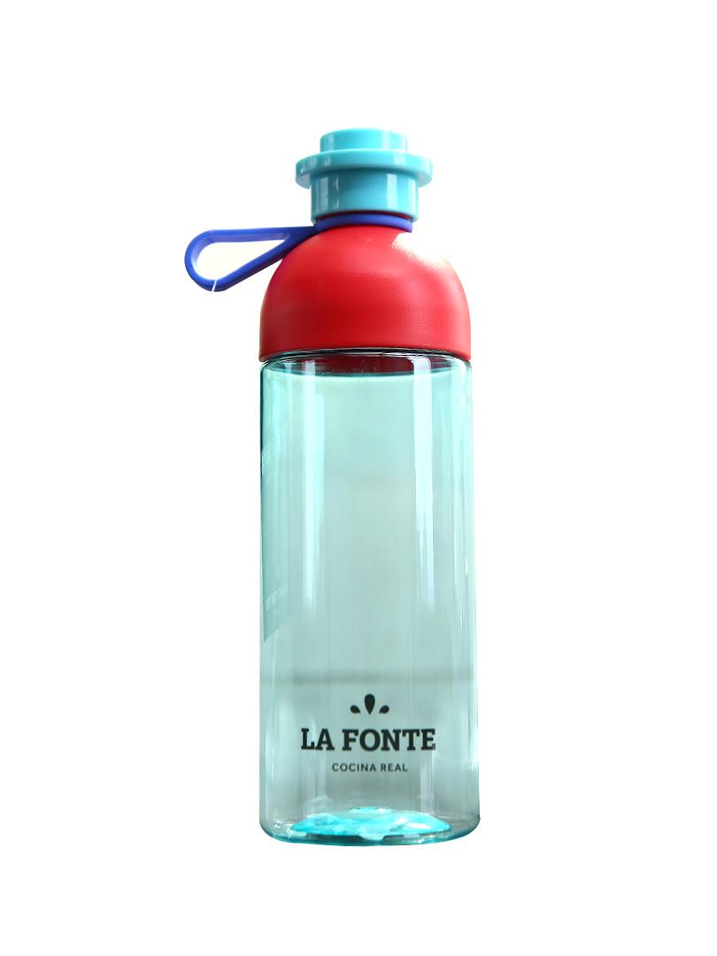 [MỚI] Bình nước uống thể thao La Fonte 600ml màu xanh dương - 886204