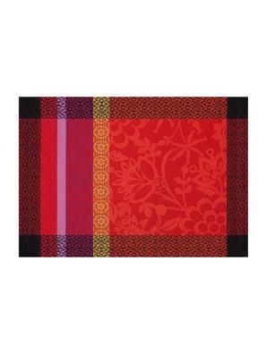 Khăn Trải Bàn PLACEMAT 54X38 cm PROVENCE STRAWBERRY màu đỏ 100%COTTON - 17707