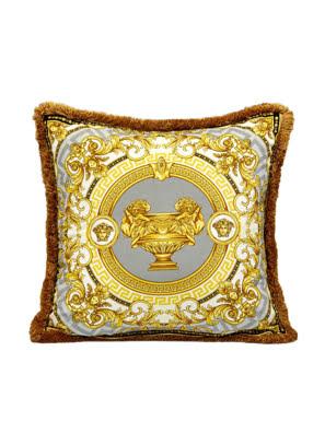 Gối Versace Z7022 (Xám-trắng-vàng) ZCOP0001. Z7022