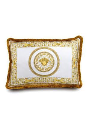 Gối Versace Z7010 trắng vàng size: 45x65cm ZSEP0001.Z7010