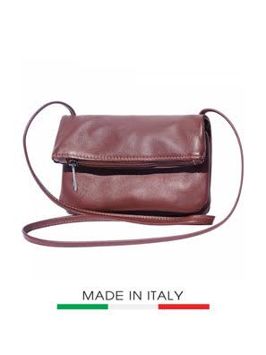 Túi xách da Ý Florence - 23x3x13cm màu nâu - 3601-Brown