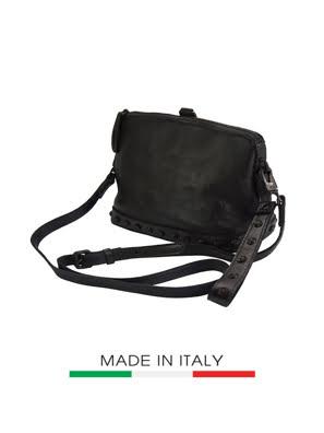 Túi xách da Ý Florence 27X11X19CM - 68150-BLACK