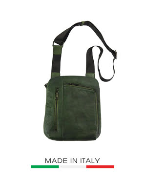 Túi xách da Ý Florence  22x4x26cm - 68026-GREEN