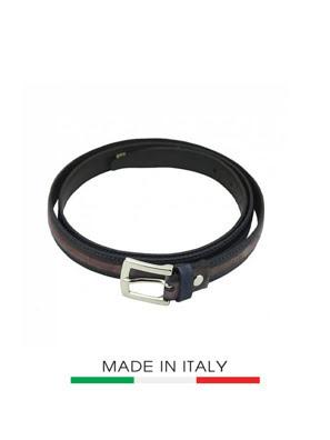 Dây thắt lưng Nữ da Ý Florence  2CM/0.74IN - 14520-BROWN
