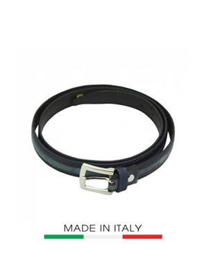 Dây thắt lưng Nữ da Ý Florence  2CM/0.74IN - 14520-BLACK