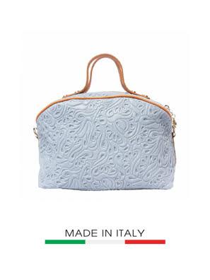 Túi xách da Ý Florence - 26X15X18 CM - B301-Grey