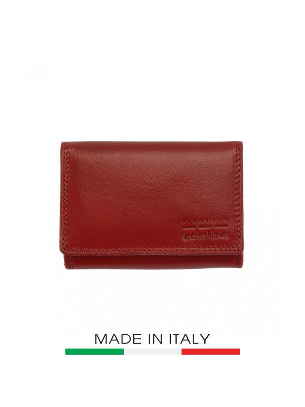 Ví da Ý Florence 12X8CM - V908-RED