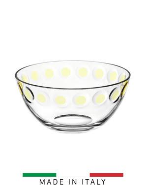 Tô thủy tinh Vidivi Candy màu vàng 23.5cm - 63372E