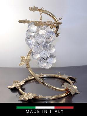 Chùm nho DEBORA Arbor cao 32 cm pha lê mạ vàng - 30611