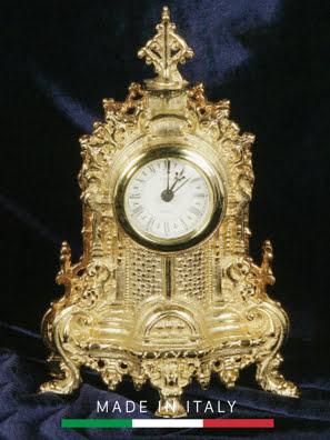 Picture of Đồng hồ cổ để bàn mạ vàng 24K Olympus Brass - Hand made in Italy