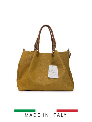 Túi xách Marlon Firenze 44x34cm - màu da bò - BS0178/7-4