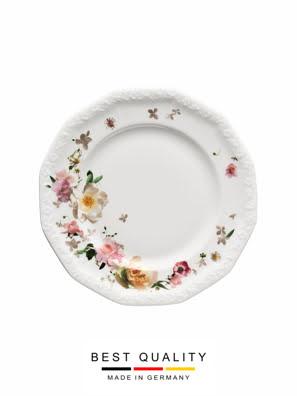 Đĩa sứ Rosenthal Maria Pink Rose 19cm - 407165_10219