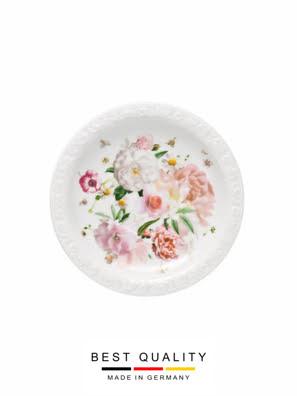 Đĩa sứ để tách trà Rosenthal Maria Pink Rose - 407165.14641