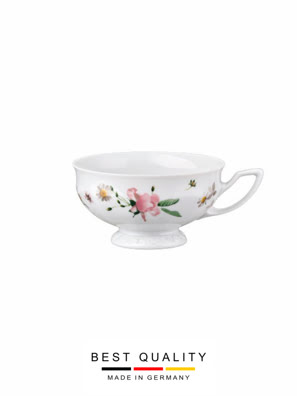 Tách trà bằng sứ Rosenthal Maria Pink Rose - 407165.14642
