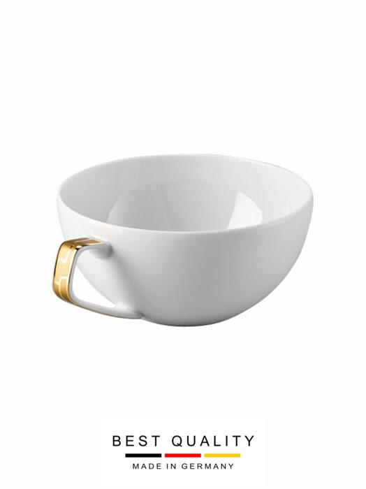 Tách trà bằng sứ mạ vàng Rosenthal TAC 02 Skin Gold - 403255.14642