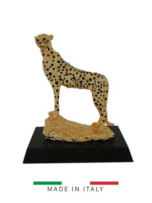 Quà tặng hoàng gia - Con báo mạ vàng 24K Goldline Italia - D4630G.BL