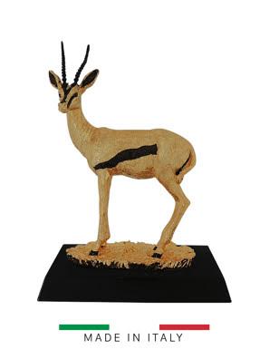 Quà tặng hoàng gia - Con hươu mạ vàng 24k Goldline Italia - D2635G.BL