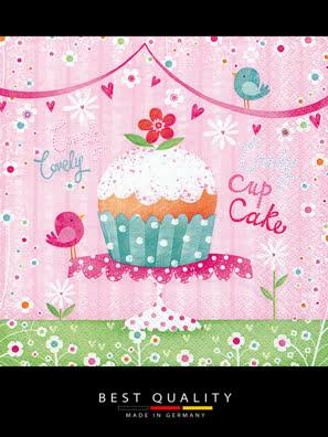 Picture of Khăn giấy ăn trang trí bàn tiệc ti-flair Tissue napkins DESIGN 33x33cm - 361335