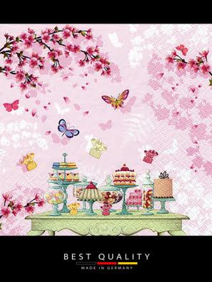 Picture of Khăn giấy ăn trang trí bàn tiệc ti-flair Tissue napkins DESIGN 33x33cm - 361510