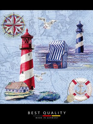 Picture of Khăn giấy ăn trang trí bàn tiệc ti-flair Tissue napkins DESIGN 33x33cm - 370230