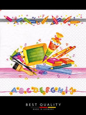 Picture of Khăn giấy ăn trang trí bàn tiệc ti-flair Tissue napkins DESIGN 33x33cm - 371719